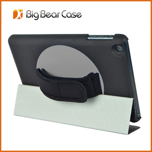 360 rotate for ipad carrying case with shoulder strap
