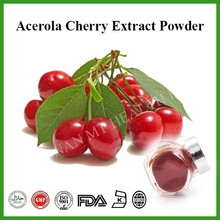 free sample acerola cherry extract/Hig quality acerola cherry extract/4:1 acerola cherry extract