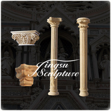 Modern design natural stone column for home decoration