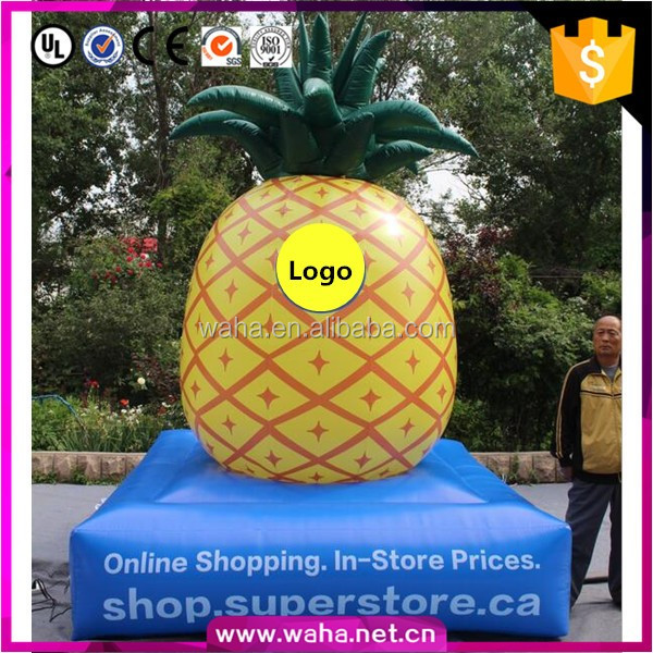 Customized factory direct sale giant inflatable pineapple fruit for event
