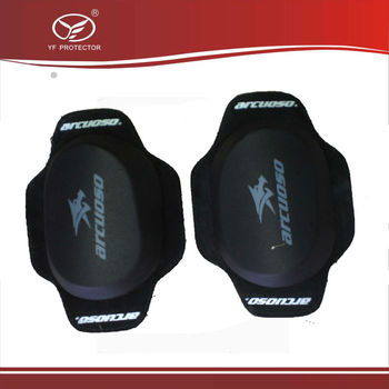 2014 Professional Motorcycle slider knee racing Safety Protector Removable Knee Sliders 3 color to choose