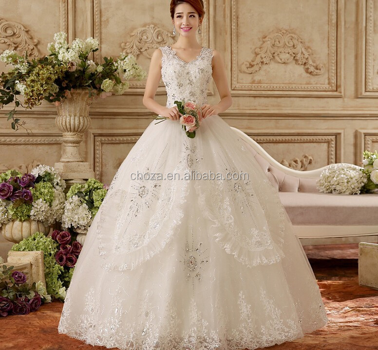 C20725B New Fashion Women Wedding Dresses Bridal Dress High End