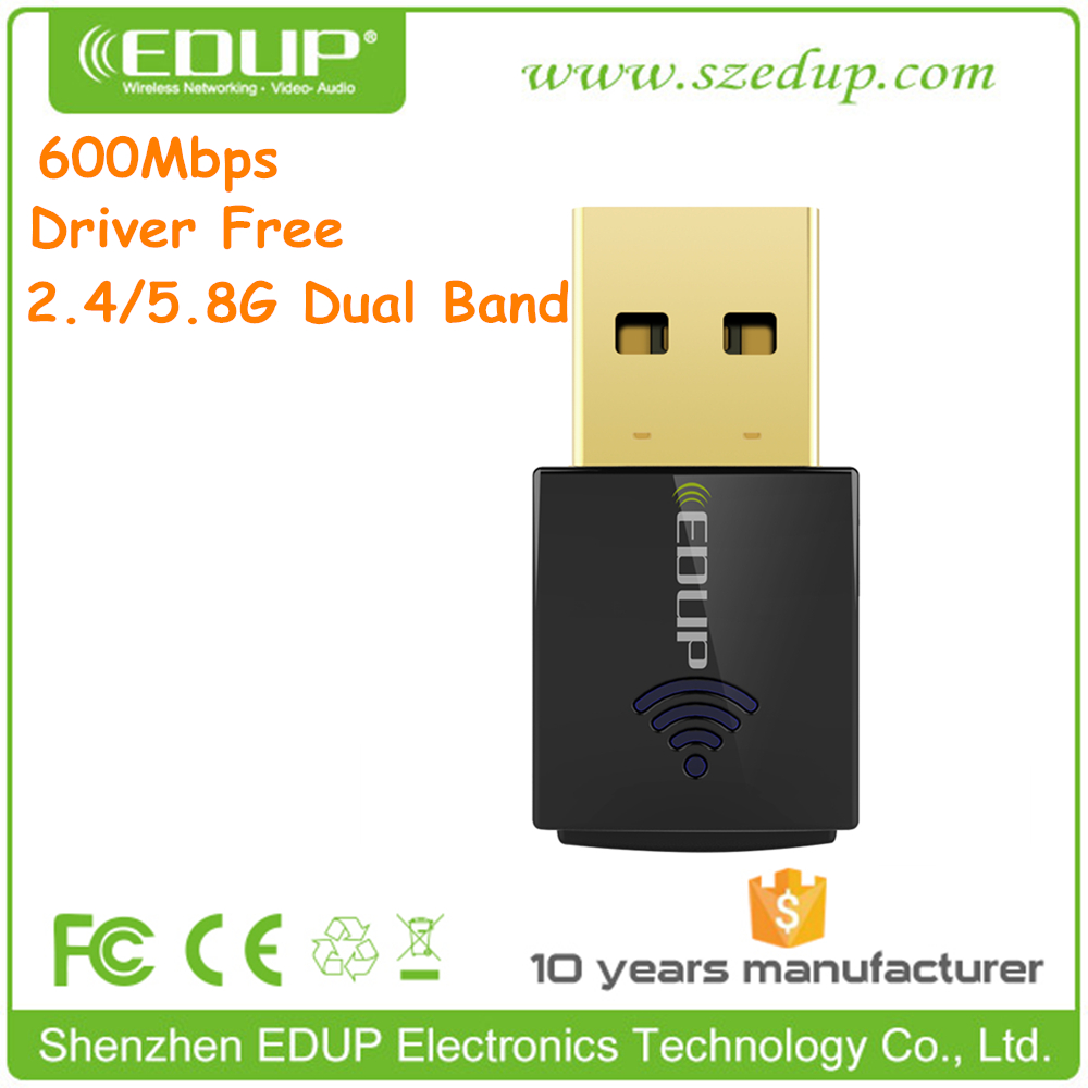 Driver Free 600M USB Wireless Network Card for Laptop Desktop PC