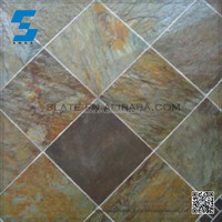 Made In China Superior Quality slate natural outdoor stone floor tiles