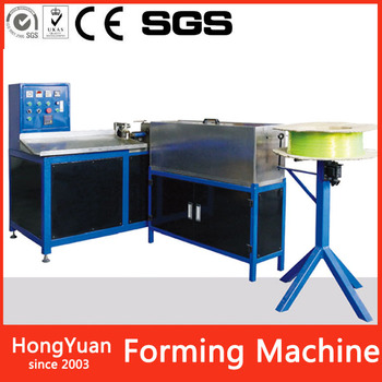 working speed up to 10-15 kg per hour CWM-1200 winding machine and plastic spiral forming machine