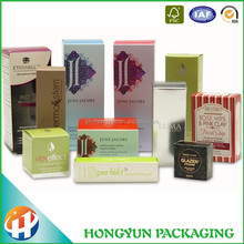 Custom Rigid Logo printed packaging paper cosmetic box