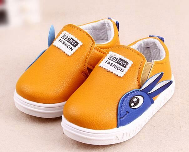 New style Soft sole PU Leather Baby Boy Girl Moccasins casual Shoes