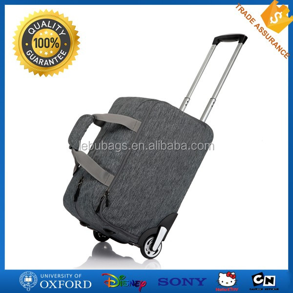lightweight customized branded waterproof nylon travel luggage bags