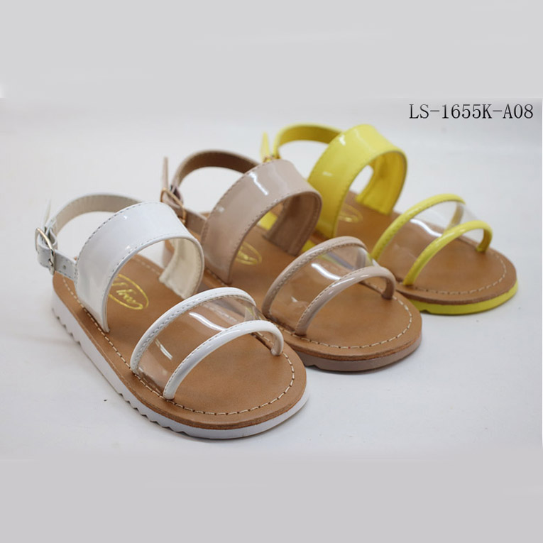 Good Design New Children Sweet Girl Shoes Pvc Baby Sandal
