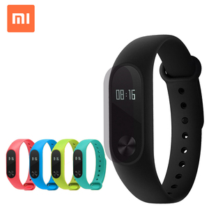 Original Xiaomi Mi Band 2 With LED display touchpad heart rate monitor Bluetooth 4.0 Miband Wristband
