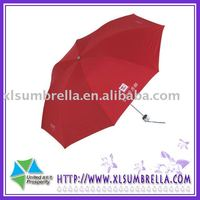 21''Plastic Manual open Promotion umbrella hand