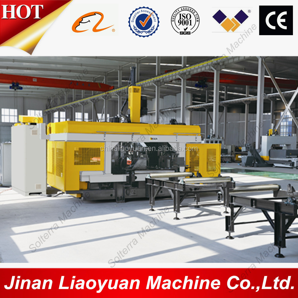 CNC H I Beam Drilling Sawing Line for Sale