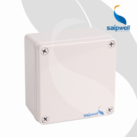 120*120*75mm ABS Waterproof Electrical Control/Switch Box Plastic Battery Enclosure