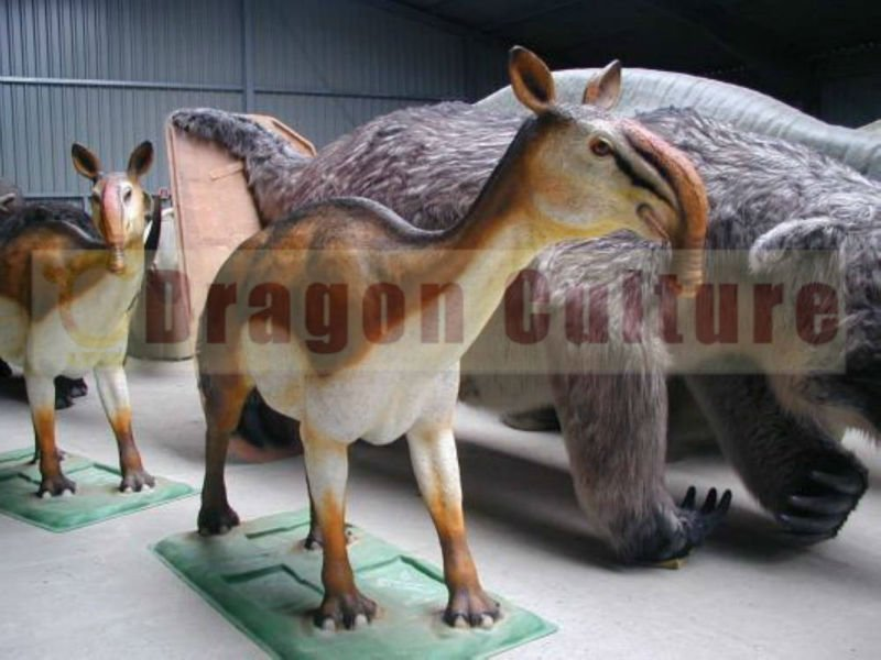 2012 Hottest products park equiment free 3d animal models