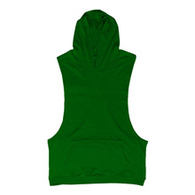 SQUAREGYM Summer Hoodie Cotton Sleeveless GYM Wear Muscle Training Tank Top Exercise Bodybuilding Wear Solid Color