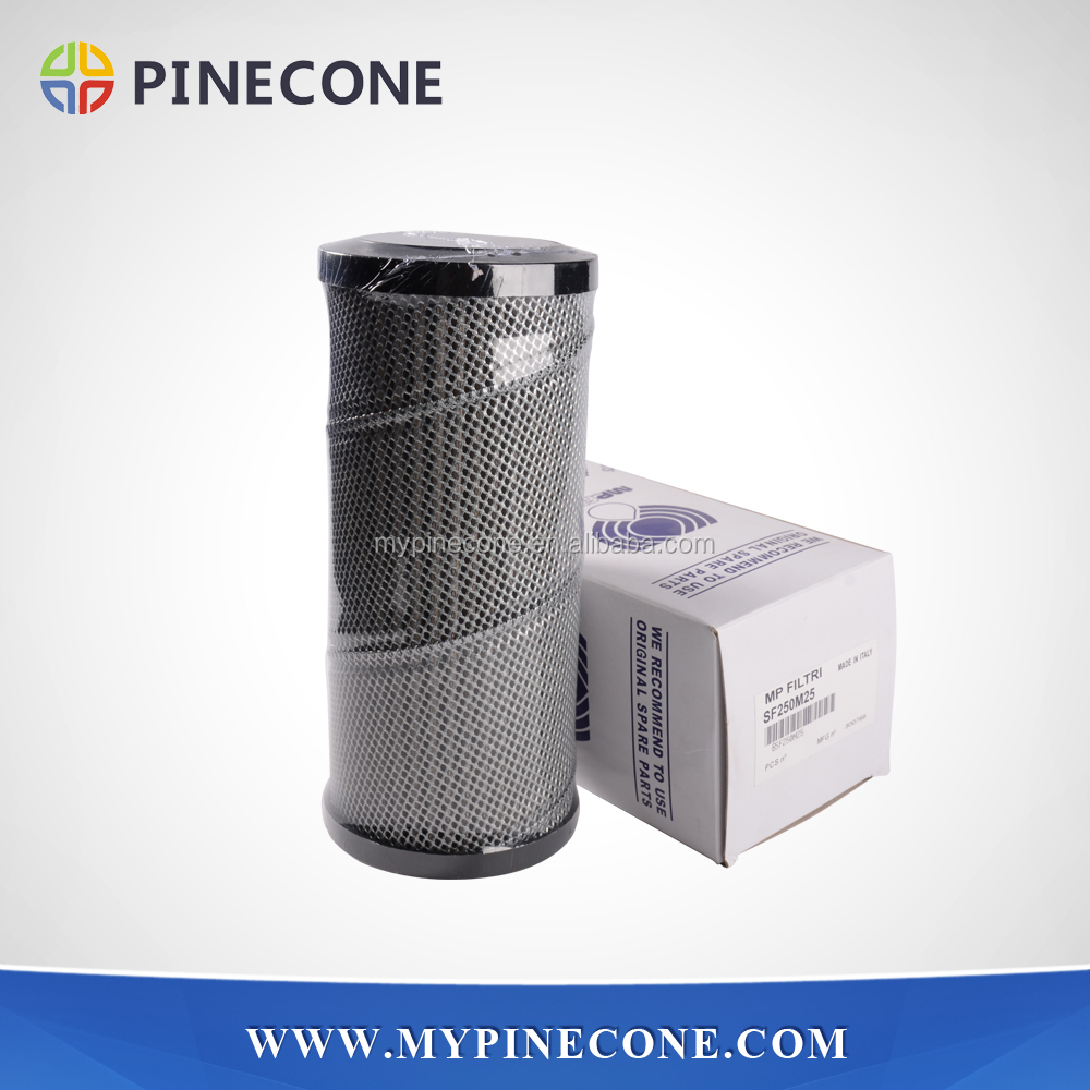Concrete pump parts MP SF250M90 hydraulic parts oil suction filter for Zoomlion truck mounted concrete boom pump