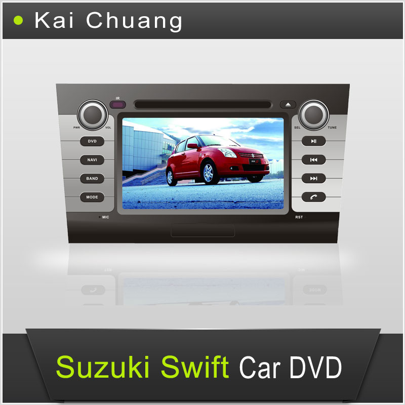 Charming Suzuki Swift Car GPS Navigation System 7inch 2din Car DVD