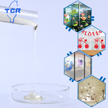 glass decoration sticker glue self-consistency acrylic adhesive polymer glue TCA-7523T details