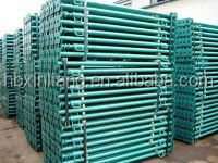 Stable and durable steel scaffolding shoring prop