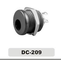 china factory 12v dc power jack pcb vertical mount / 3mm dc female jack