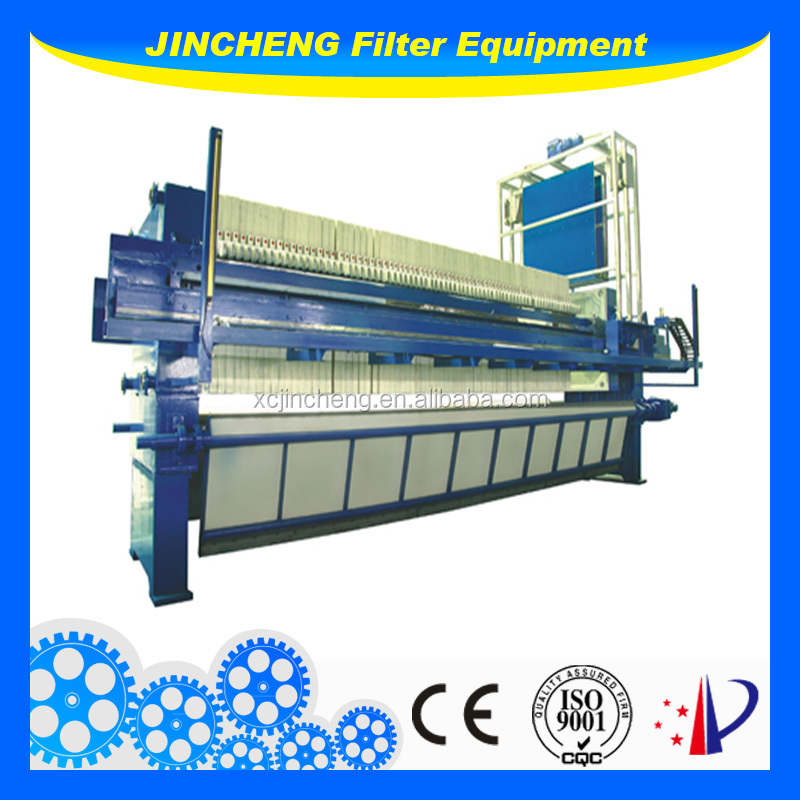 slurry dryer low price fully automatic filter press for sludge treatment