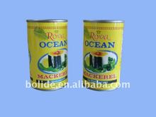canned mackerel in brine 155g