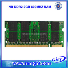 Fast delivery cheap price memory ram ddr2 2gb notebook