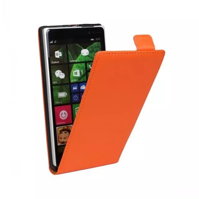 Cheap simple mobile phone case blank leather cover smart phone case for Nokia mobile phone LUMIA 830