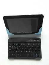 7 inch mini bluetooth keyboard case with touchpad for summer