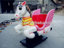 Coin Operated Electric Rocking Horse Ride for Kiddie