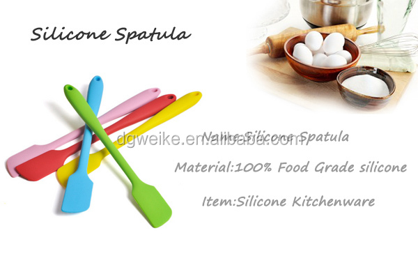 silicone kitchen products Food Mixer Cake Decorating Spatula
