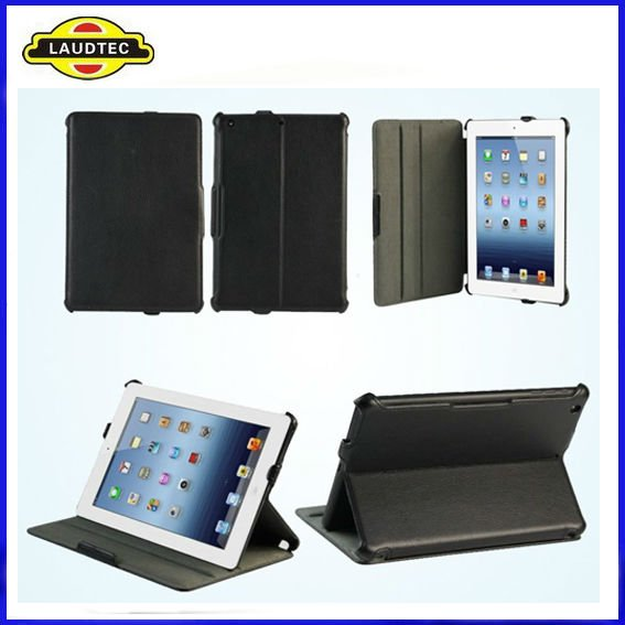 Premium Folio Case for iPad Mini,High quality Leather Case Cover---Laudtec