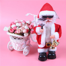 Promotional Items Christmas Gifts Moving Santa with Bells