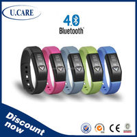 2015 popular sport fitness smartband, bluetooth activity tracker