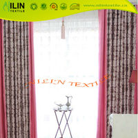 100 polyester Jacquard fabric window curtain blackout curtain