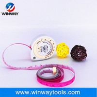 Soft teardrop-shaped or drop-shaped BMI gift tape measure with logo customized