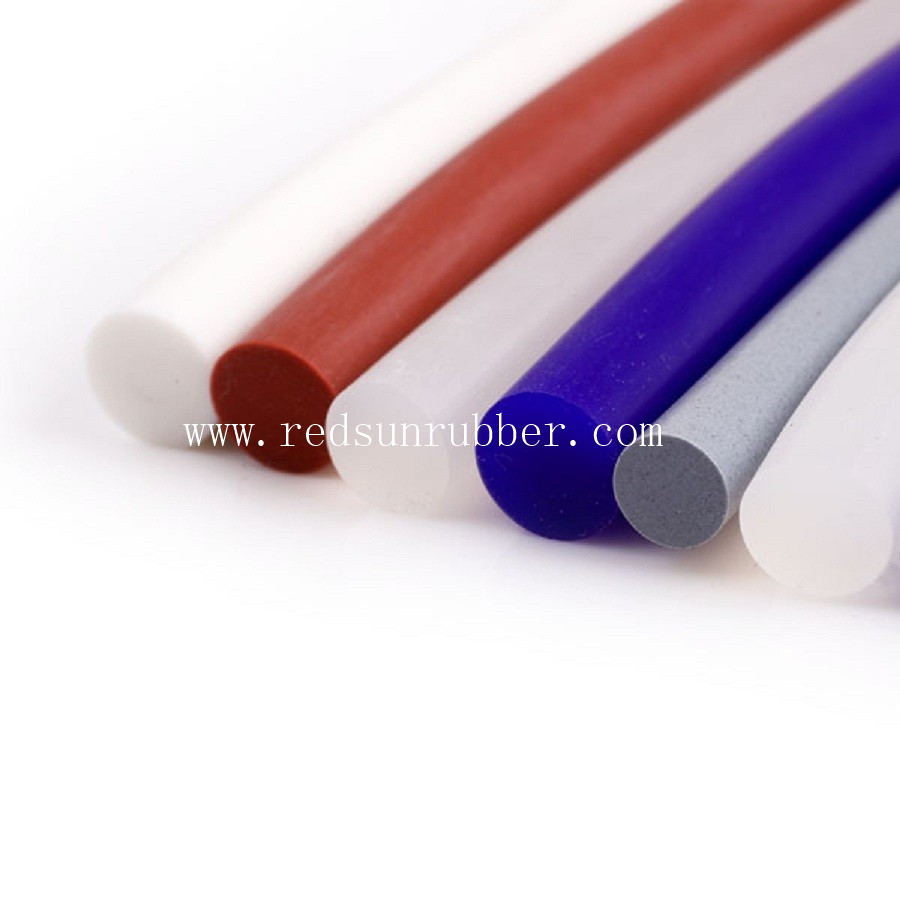 2mm Silicone Rubber Extruded Cord