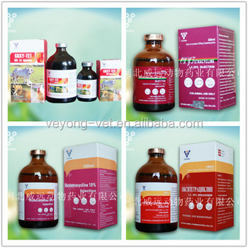 Best price hot sale veterinary medicines for cattle 5%,10%,20% long acting oxytetracycline injection