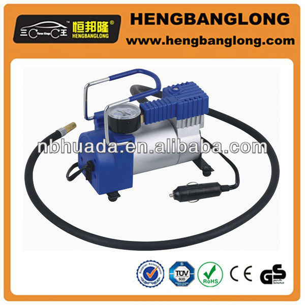 12V metal air compressor bike pump for car tires
