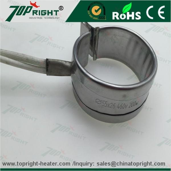 Factory direct sales round shape high watt extruder MICA band heater