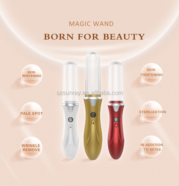 Online shipping beauty & personal care skin whitening machine plasma face lift machine Ion Magic Wand OEM welcome