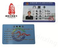 OEM Factory Wholesale Custom Design hard plastic id card protector with good quality