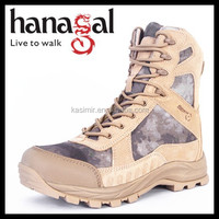 Guangzhou Boots Factory Camouflage Sand Waterproof Breathable Hunting Shoes for Hunters
