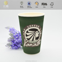ripple wall decorative plastic cups with lids