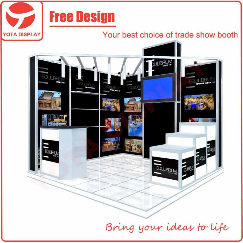 Yota trade show booth exhibition stall 3x3