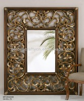 large decorative floor standing mirror frame