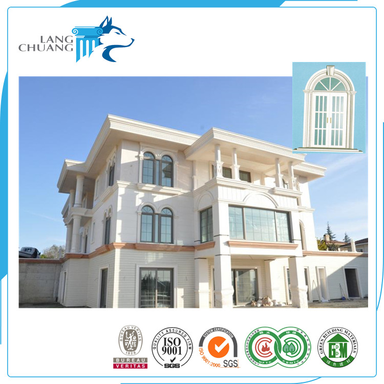 External Wall Decoration Waterproof GRC Window Frame Design For House
