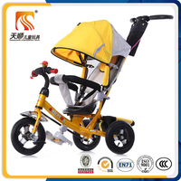 China Tricycle Three Wheels Kids Tricycle with Push Bar
