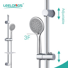 Movable Support Bathroom Sliding Shower Set with handheld shower