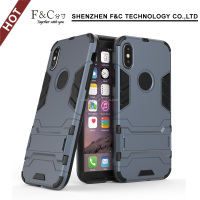 For iphone 8 case, strong pc tpu shockproof back cover